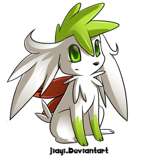 Sad Shaymin by Jidyi, Rights TPCi