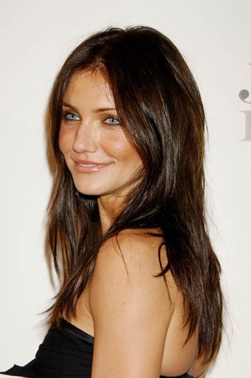 Golden Highlights With Dark Brown Hair. author: stylist category: Brunette